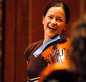 MEGUMI STOHS LEWIS, violin