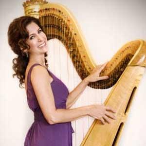 Stacey Shames harp